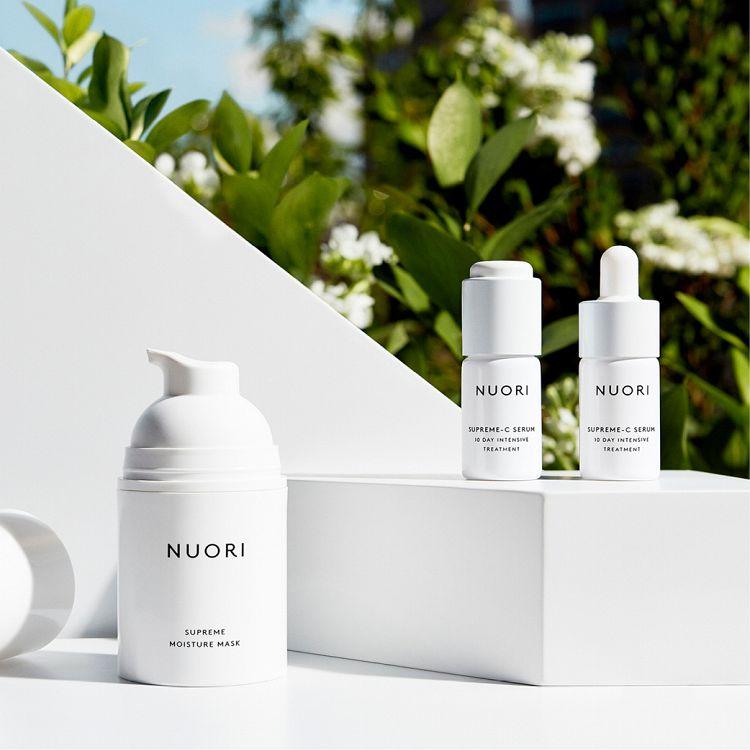 Clean Beauty Produkte von Nuori