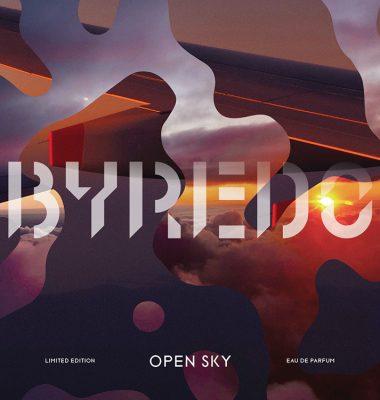 Reisen in Zeiten des Stillstands mit OPEN SKY – der neue limitierte Duft von BYREDO